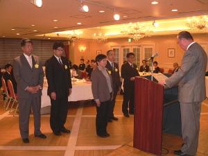 従業員表彰式